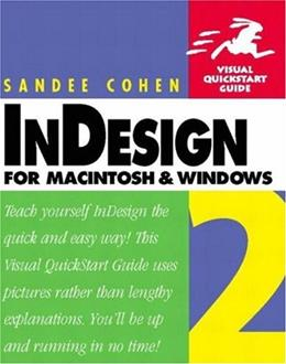 InDesign 2 for Macintosh and Windows 9780201794786