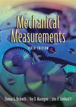 Mechanical Measurements (6th Edition) 9780201847659