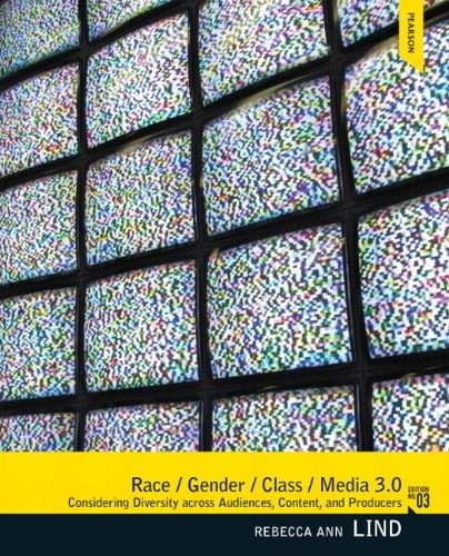 Race/Gender/Class/Media (3rd Edition) 9780205006106