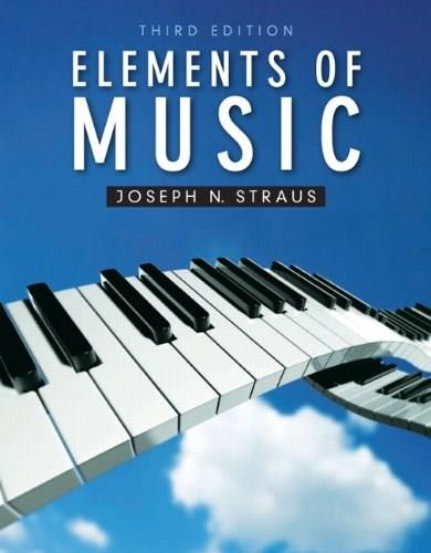 Elements of Music (3rd Edition) 3 PKG 9780205007097