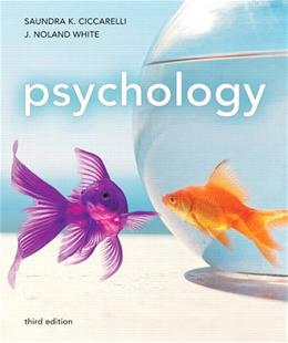 Psychology, by Ciccarelli, 3rd Edition 9780205011353