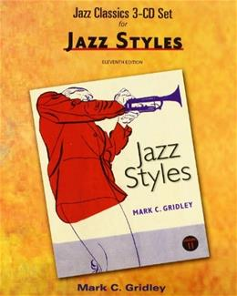Jazz Classics, by Gridley, 11th Edition, CD-ROMS ONLY 11 CD-ROM 9780205036868