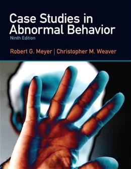 Case Studies in Abnormal Behavior (9th Edition) 9780205036998