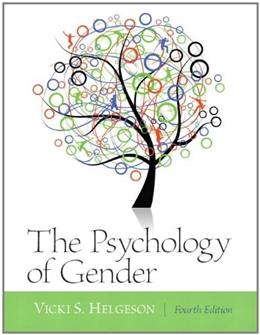 Psychology of Gender: Fourth Edition 4 9780205050185