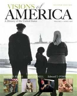 Visions of America Voume 2 2nd Edition 9780205092680