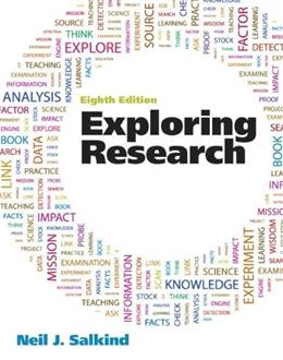 Exploring Research (8th Edition) 9780205093816