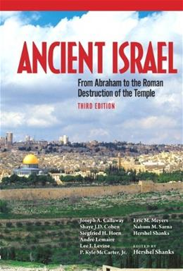 Ancient Israel, by Shanks, 3rd Edition 9780205096435