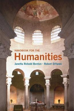 Handbook for the Humanities 1 9780205161621