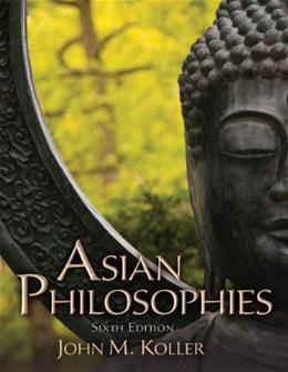 Asian Philosophies 6 9780205168989