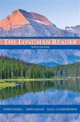 The Longman Reader (10th Edition) 9780205172894