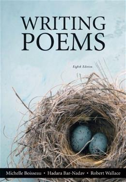 Writing Poems (8th Edition) 9780205176052