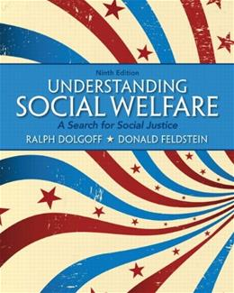 Understanding Social Welfare: A Search for Social Justice (9th Edition) 9780205179701