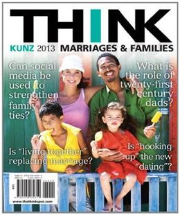 THINK Marriages and Families (2nd Edition) 9780205182619