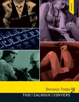 Deviance Today, by Thio 9780205182725