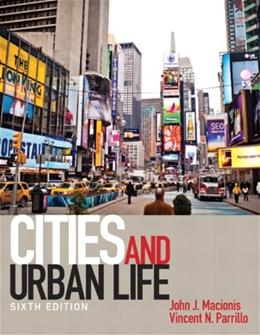 Cities and Urban Life (6th Edition) 9780205206377