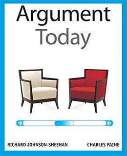 Argument Today 1 9780205209682