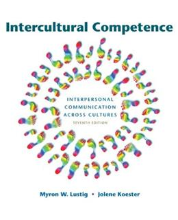 Intercultural Competence (7th Edition) 9780205211241