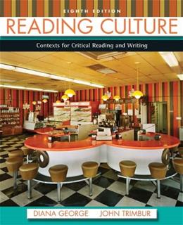 Reading Culture (8th Edition) 9780205211258