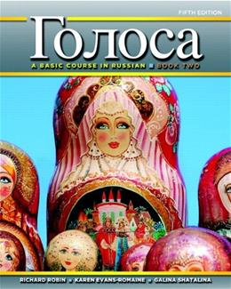 Golosa: A Basic Course in Russian, Book Two (5th Edition) 9780205214600