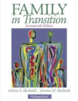 Family in Transition (17th Edition) 9780205215973