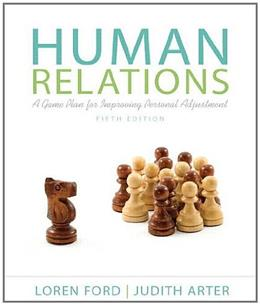 Human Relations: A Game Plan for Improving Personal Adjustment (5th Edition) 9780205233052