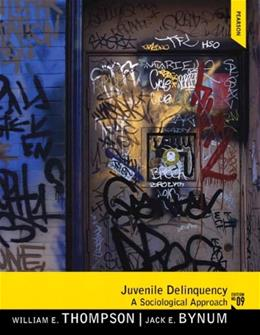 Juvenile Delinquency (9th Edition) 9780205246533
