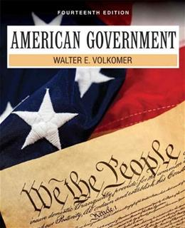 American Government (14th Edition) 9780205251735