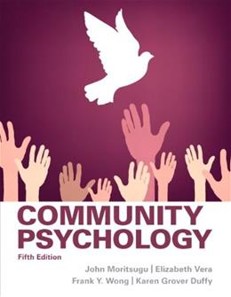 Community Psychology 5 9780205255627