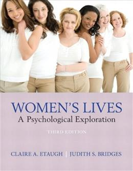 Womens Lives: A Psychological Exploration 3 9780205255634