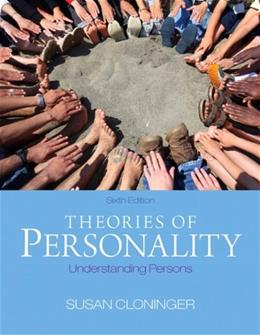 Theories of Personality: Understanding Persons (6th Edition) 9780205256242