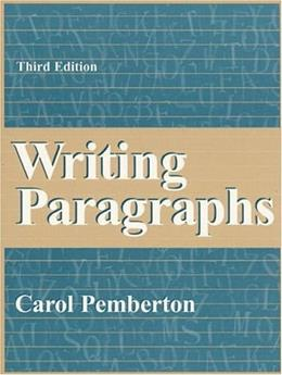Writing Paragraphs (3rd Edition) 9780205260799