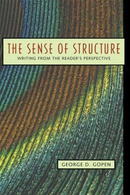 Sense of Structure: Writing from the Reader