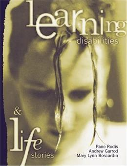 Learning Disabilities and Life Stories, by Rodis 9780205320103