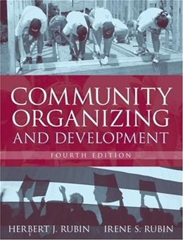 Community Organizing and Development (4th Edition) 9780205408139