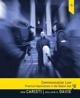 Communication Law 1 9780205504169