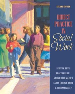 Direct Practice in Social Work (2nd Edition) 9780205569380