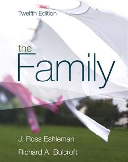 The Family (12th Edition) 9780205578740