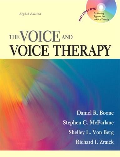 The Voice and Voice Therapy (8th Edition) 8 w/DVD 9780205609536