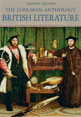 Longman Anthology of British Literature, by Damrosch, 4th Edition, Volume 1B:  The Early Modern Period 9780205655328