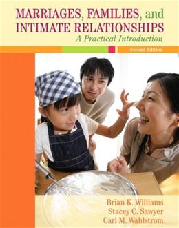 Marriages, Families, and Intimate Relationships, by Williams, 2nd Edition, MyFamilyLab Access Card ONLY 2 PKG 9780205672455