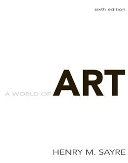A World of Art (6th Edition) 9780205677207