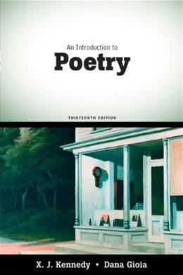 An Introduction to Poetry (13th Edition) 9780205686124