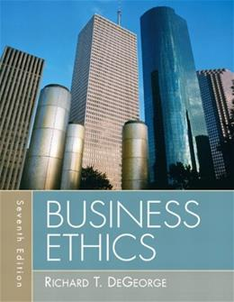Business Ethics (7th Edition) 9780205731930