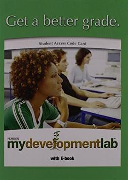 MyDevelopmentLab with Pearson eText for Development Across the Life Span, by Bacon, Access Code Only PKG 9780205768882