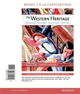 Western Heritage, by Kagen, 11th Books a la Carte Edition, Volume 2 9780205786558
