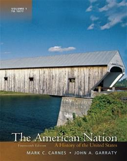 American Nation: A History of the United States, Volume 1 14 9780205790425