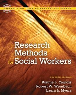 Research Methods for Social Workers (7th Edition) 9780205820115