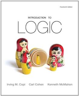 Introduction to Logic 14 9780205820375