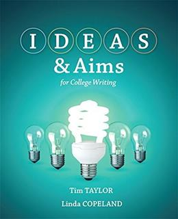 IDEAS and Aims, by Taylor 9780205830602