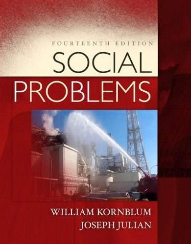 Social Problems (14th Edition) 9780205832323